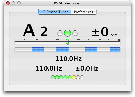 ks strobe tuner au screenshot